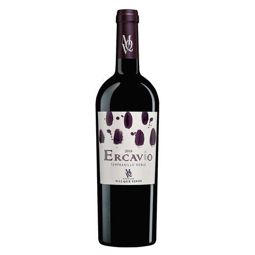 """Ercavio Tempranillo Roble 2016, Bodegas Más Que Vinos, Tierra de Castilla, Spanien """"Ein Lehrstück in Sachen Tempranillo..."""" (Robert Parker, Wine Advocate 242, 04/2019)"""
