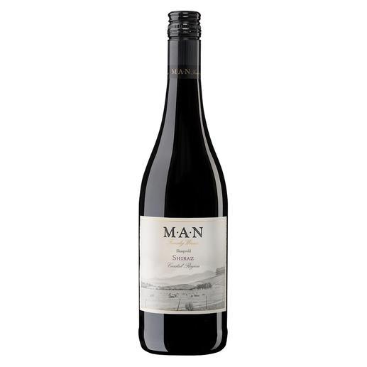 Skaapveld Shiraz 2018, MAN Family Wines, Stellenbosch, Südafrika - Einen besseren Shiraz unter 7 € haben wir nicht gefunden.
