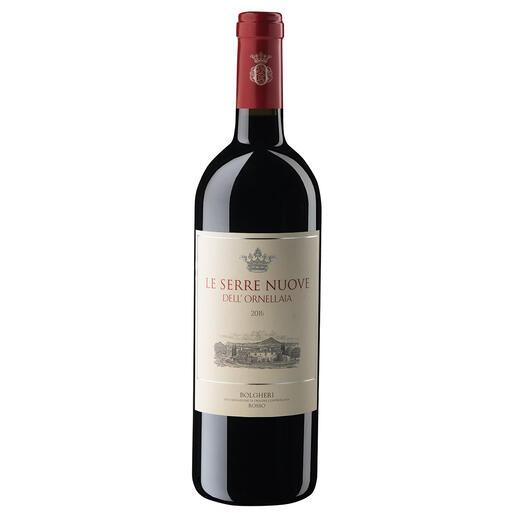 Le Serre Nuove 2016, Tenuta dell'Ornellaia, Bolgheri, Toskana, Italien Der Wein aus diesen Reben wird in einigen Jahren das Dreifache kosten.