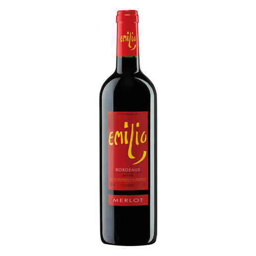 Emilio Merlot 2016, Bordeaux, Frankreich 17 (!) Jahrgänge machte er 500-Euro-Weine. Hier ist sein neuester Coup.