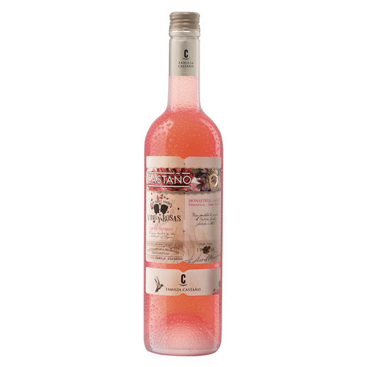 Ice Rosado 2018, Bodegas Castaño, Yecla, Spanien Nur 11,5 % Alkohol – die perfekte Erfrischung.