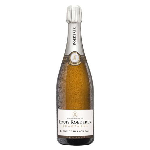 Roederer Blanc de Blancs 2011, Champagne, Reims, Frankreich Seltene Einigkeit: 92 Punkte im Wine Spectator 15.12.2018. 93 Punkte von Robert Parker, Wine Advocate 237, 06/2018. 94 Punkte von James Suckling, www.jamessuckling.com, 05.09.2018.