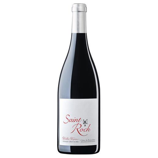 "Saint Roch ""Vieilles Vignes"" 2017, Château Saint Roch, Côtes du Roussillon, Frankreich ""Den sollten Sie kistenweise kaufen."" (Robert Parker, Wine Advocate 224, 03/2016 über den Jahrgang 2015)"