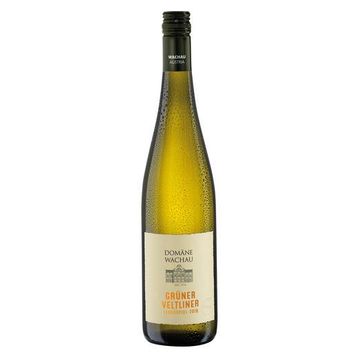 """Grüner Veltliner Federspiel """"Terrassen"""" 2018, Domäne Wachau, Österreich Der Weißwein des Jahres aus Österreich. (Weinwirtschaft 01/2009)"""