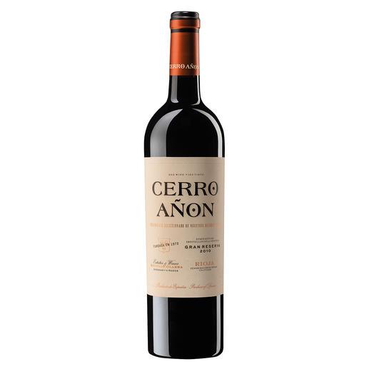 Cerro Añon Gran Reserva 2010, Bodegas Olarra, Rioja, Spanien Die beste Gran Reserva.  Unter 70 weltweit renommierten Konkurrenten. (Decanter Magazin März 2019)