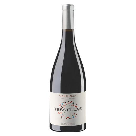 """Tessellae Carignan 2018, Domaine Lafage, Roussillon, Frankreich - """"Ein sensationeller Wein.""""  (Robert Parker, Wine Advocate 230, 04/2017 über den Jahrgang 2015)"""