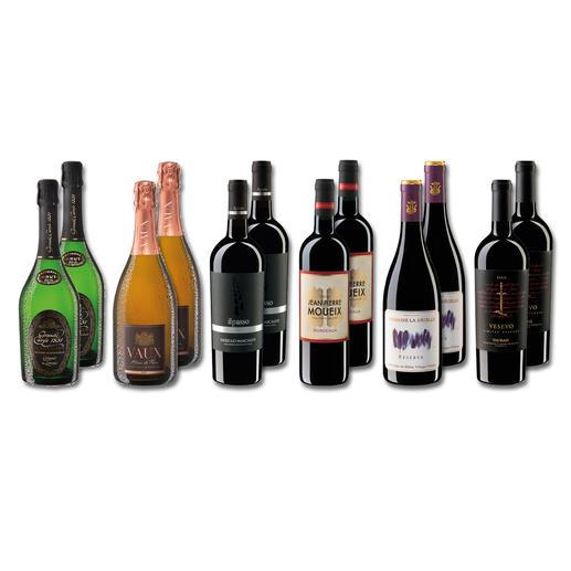 Testpaket - Neuzugänge Frühjahr 2020 12 Flaschen à 0,75 l