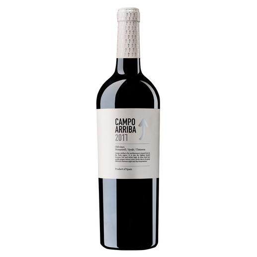 """Campo Arriba 2017, Bodegas Barahonda, Yecla, Spanien Sogar für 20 US-Dollar ein """"absurd niedriger Preis für die Qualität."""" (Robert Parker, Wine Advocate, Interim 11/2015 über den Jahrgang 2014)"""