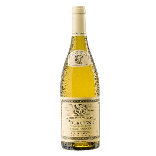"""Bourgogne Chardonnay """"Les Roches Blanches"""" 2018, Louis Jadot, Burgund, Frankreich Endlich ein weißer Burgunder, der seinen Namen verdient."""