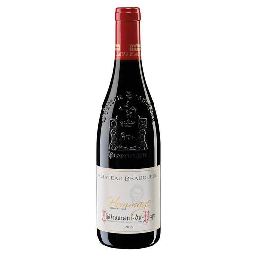Châteauneuf du Pape Hommage 2016, Château Beauchêne, Rhône, Frankreich Nur in den besten Jahrgängen. Und nur 3.600 Flaschen.