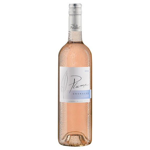 Plume Rosé 2019, Domaine La Colombette, Coteaux du Libron, Languedoc, Frankreich - Trocken. Nur 9 % Alkohol. Aber 100 % Genuss.
