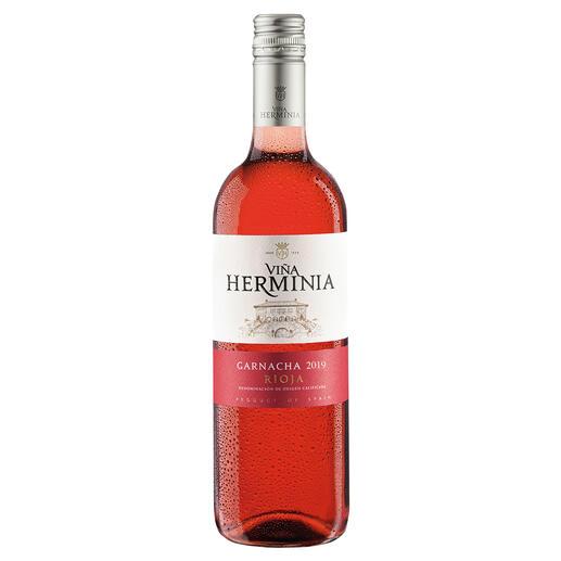Viña Herminia Rosado 2019, Rioja, Spanien Der neue Typ Rosé-Wein.