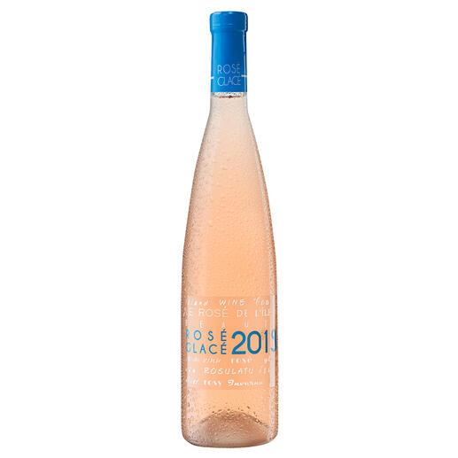 Rosé Glacé 2019, Vigneron de L´Ile de Beauté, Korsika, Frankreich Trocken. Nur 12 % Alkohol. Aber 100 % Genuss.