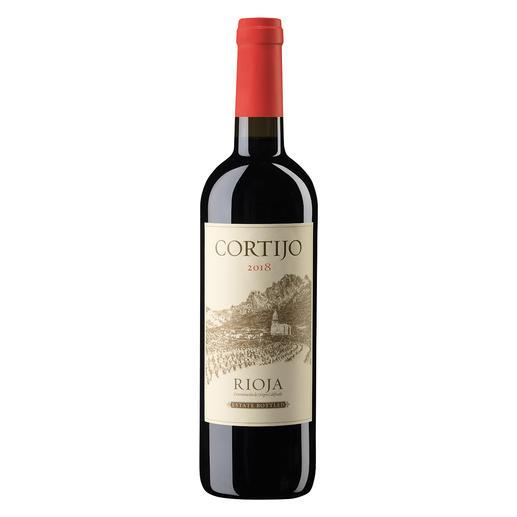 Cortijo Tinto 2018, Cía de Vinos del Atlantico, Rioja, Spanien Rioja. 90 Punkte von James Suckling. (www.jamessuckling.com, 02.08.2018 über den Jahrgang 2016)