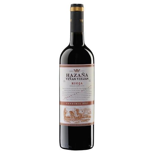 """Hazaña Viñas Viejas 2017, Bodegas Abanico, Rioja, Spanien - """"Einfach eines der größten Schnäppchen in der Rioja, das man für Geld kaufen kann.""""  (Robert Parker über den Jahrgang 2014, www.robertparker.com, Interim – 07/2015)"""