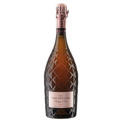 CAVA Rosé Gran Reserva 2015, Pere Ventura, Penedès, Spanien Der Preis-Genuss-Sieger. Unter 569 (!) verkosteten Schaumweinen. 94 Punkte (Wine & Spirit Magazine, Ausgabe August 2019 für den Jahrgang 2014)