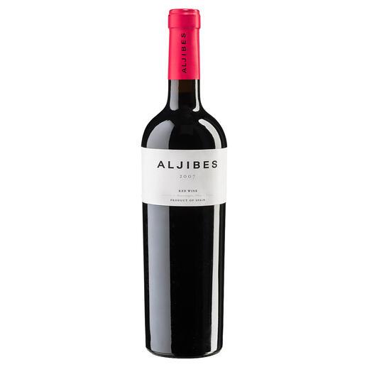 "Aljibes Cuvée Classic 2007, Bodega Los Aljibes, La Mancha, Spanien ""Außergewöhnlicher Weinwert. 92 Punkte."" (Robert Parker, robertparker.com, TheWineAdvocate195, 02.05.2011)"