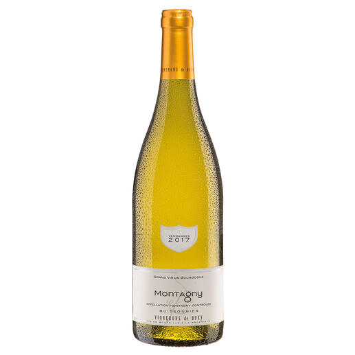 Bourgogne Montagny 2017, Vignerons de Buxy, Burgund, Frankreich Der Weißwein des Jahres aus Frankreich. (Weinwirtschaft 01/2018)