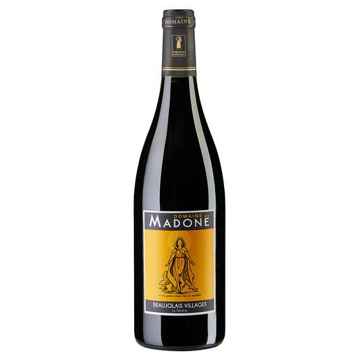 """La Madone 2019, Domaine de la Madone, Beaujolais Villages AOP, Frankreich """"Ein großartiger Weinwert. 92 Punkte."""" (Robert Parker, The Wine Advocate 244, 30.08.2019)"""
