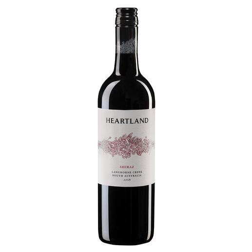 """Heartland Shiraz 2018, Heartland Wines, Langhorne Creek, Australien Der Sieger unserer Wine Competition """"Shiraz bis 15 Euro, Oktober 2016"""" (Von 51 verkosteten Weinen unter 15 Euro aus der Rebsorte Shiraz.)"""