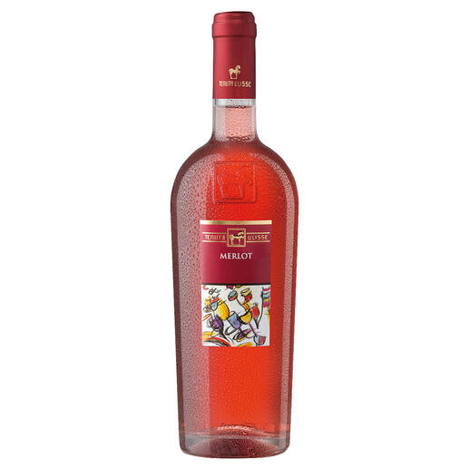 "Merlot Rosato 2020, Tenuta Ulisse, Abruzzen, Italien ""Der beste Rosé Italiens. 99 Punkte."" (Luca Maroni, Annuario dei Migliori ¬Vini Italiani 2022)*"