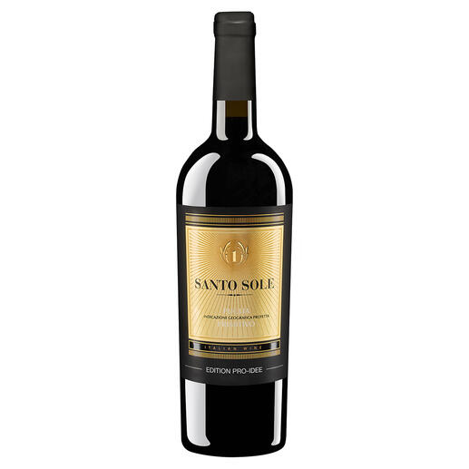 Santo Sole Primitivo EDITION PRO-IDEE 2020 Vom besten Produzenten Italiens 2016, 2017, 2019 und 2020. (www.mundusvini.com, Spring Tasting 2017 & 2020; Luca Maroni, Annuario dei Migliori Vini Italiani 2016, 2017, 2019)