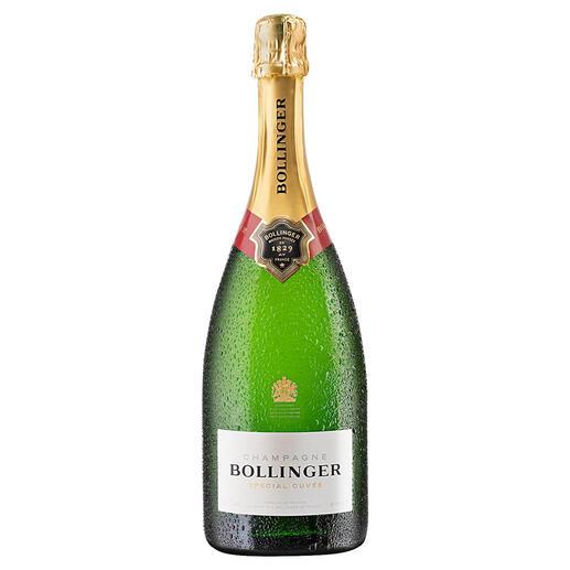 Champagne Bollinger Special Cuvée, Bollinger, Champagne, Frankreich Schon 1884 Hoflieferant des britischen Königshauses. Bis heute ein außergewöhnlicher Champagner.