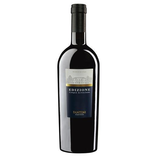 "Cinque Autoctoni, Fantini, Abruzzen, Italien ""Bester Rotwein Italiens."" (Luca Maroni über die Edition 17, Annuario dei Migliori Vini Italiani 2018)"