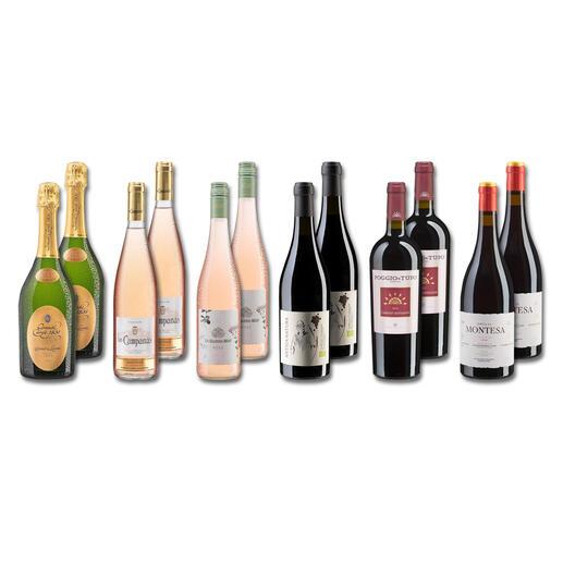 Testpaket - Neuzugänge Winter 2021 12 Flaschen à 0,75 l