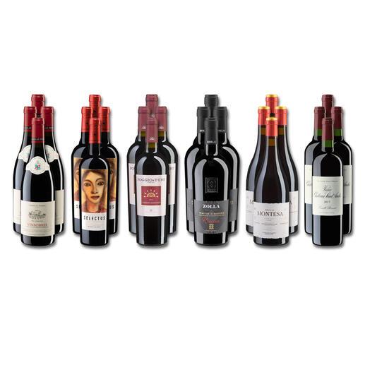 Weinsammlung - Die kleine Rotwein-Sammlung für anspruchsvolle Genießer Frühjahr 2022, 24 Flaschen Wenn Sie einen kleinen, gut gewählten Weinvorrat anlegen möchten, ist dies jetzt besonders leicht.