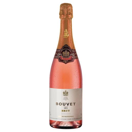 Bouvet Rosé Brut Cuveé Excellence, Bouvet-Ladubay, Saumur, Loire, Frankreich Der elegante Rosé, den auch ein Weltmeister der Sommeliers empfiehlt. (www.delmonego.de, 03/2006)