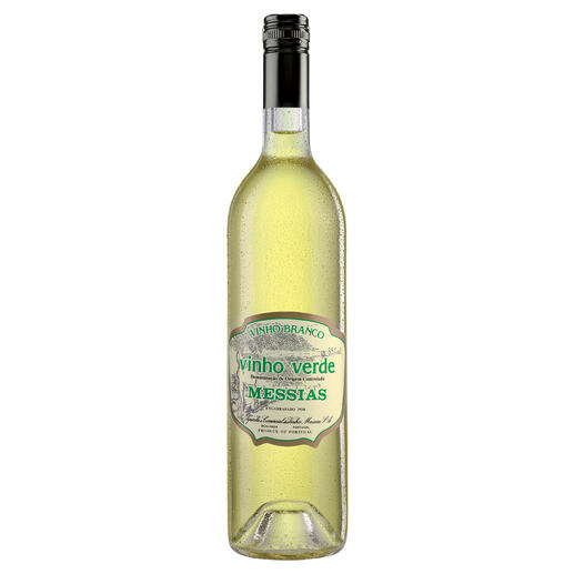 Vinho Verde DOC, Messias, Portugal - Nicht schwer. Wenig Alkohol. Aber 100 % Genuss.