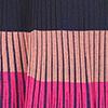 Schwarz/Blau/Rosé/Pink