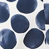 Cremeweiß/Marineblau