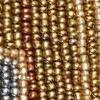 Grau/Gold/Kupfer/Beige