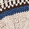 Beige-Melange/Schwarz/Weiß/Jeansblau