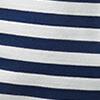 Blau-Weiß gestreift