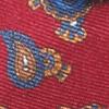 Rot/Blau Paisley